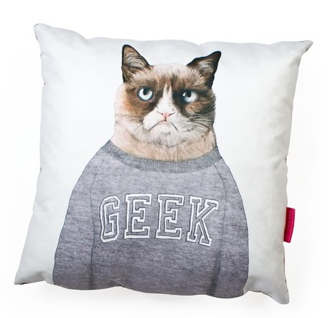 Grumpy Cat Animal Cushion