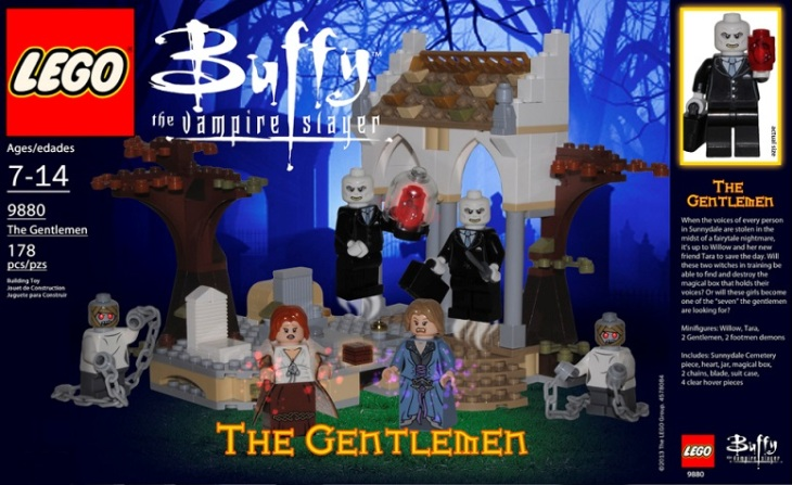 Buffy Gentlemen LEGO