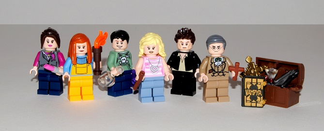 BtVS Season 1 LEGO
