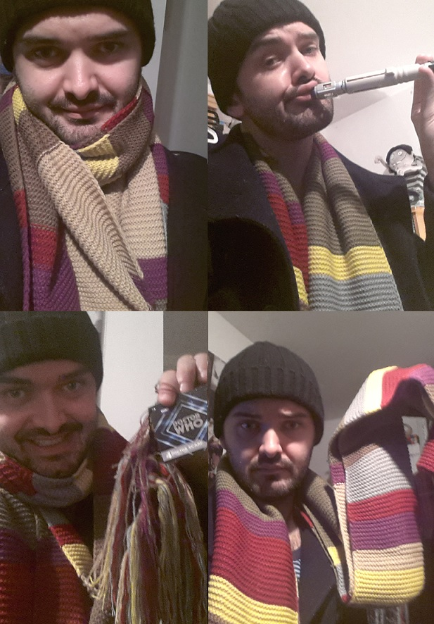 doctor who 4th dr scarf